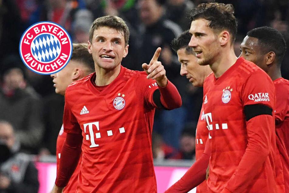 Demontage! FC Bayern schießt Schalke ab und rückt RB Leipzig auf die Pelle
