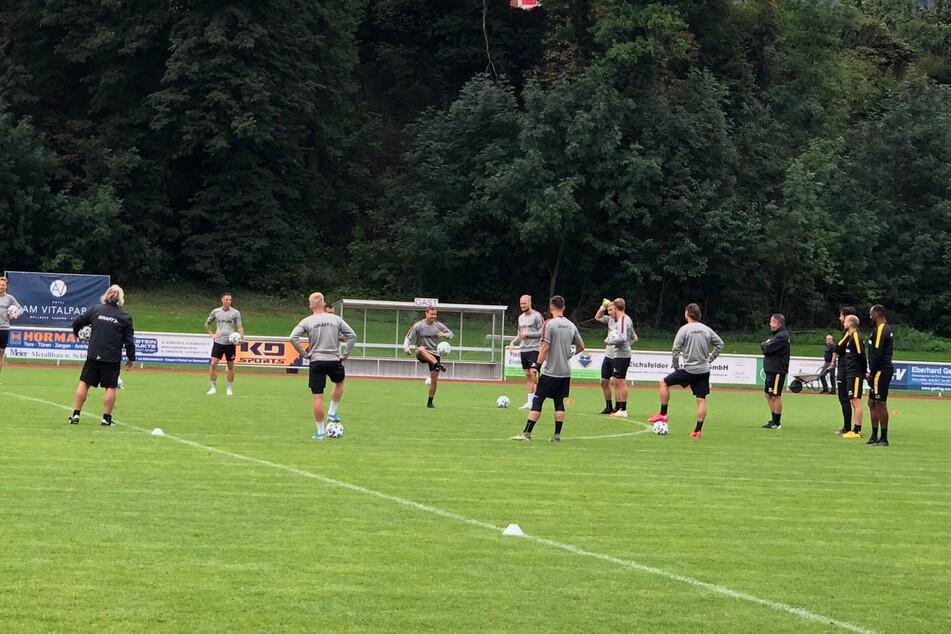 Am Montag trainieren die Dynamos mit voller Kapelle zweimal.