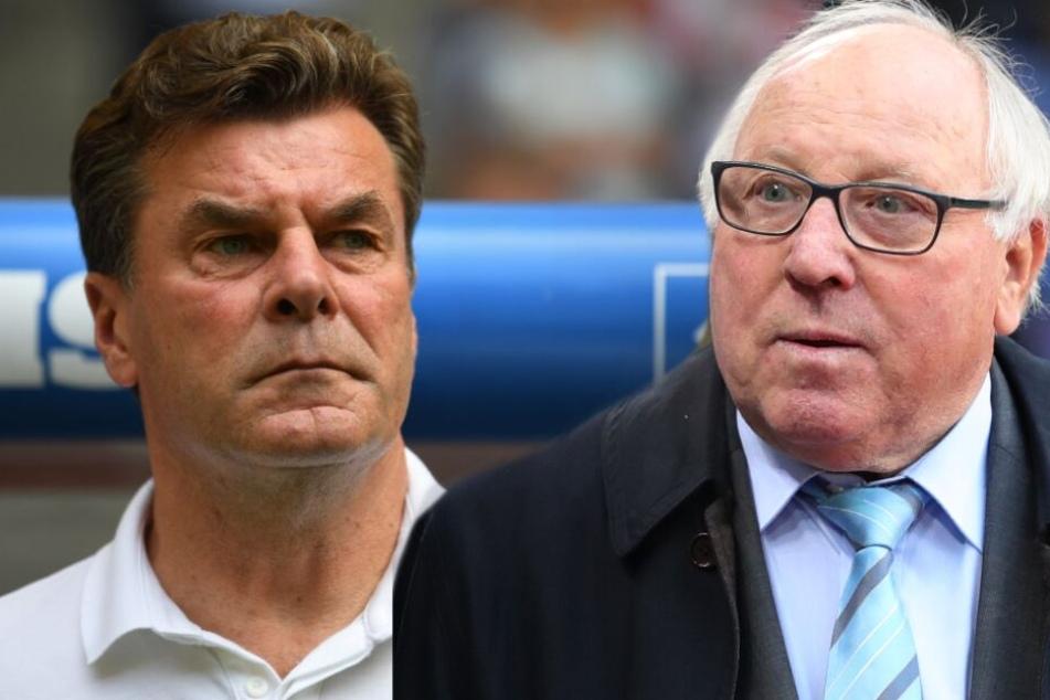 """""""Wetten, dass..."""": HSV-Idol Uwe Seeler feilscht um Trainer Hecking"""
