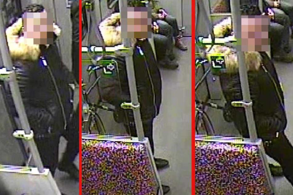 Mit diesen Aufnahmen aus der U6 suchte die Berliner Polizei den Vergewaltiger.