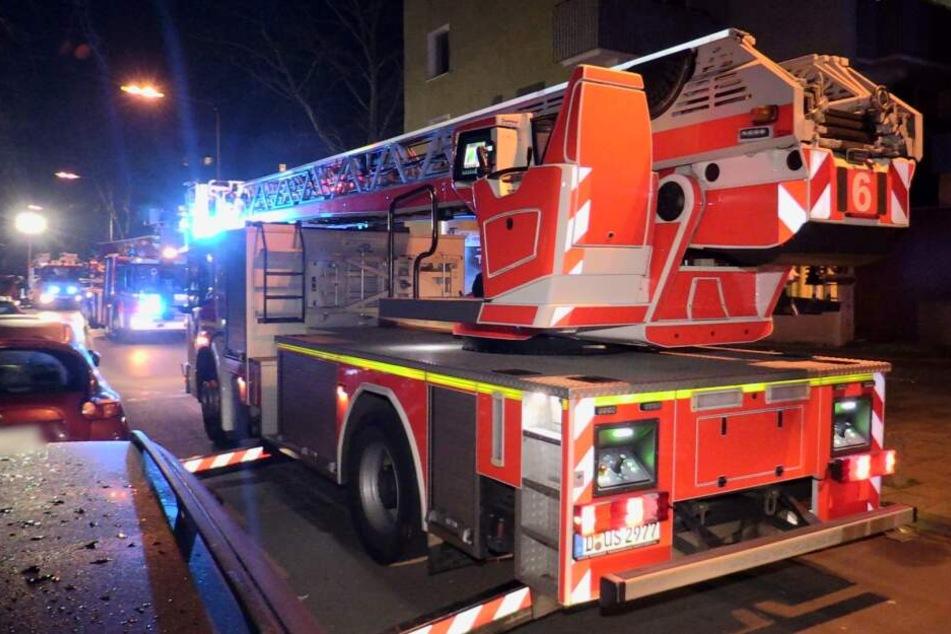 Drei Verletzte bei Feuer in Düsseldorf: 18 Menschen gerettet
