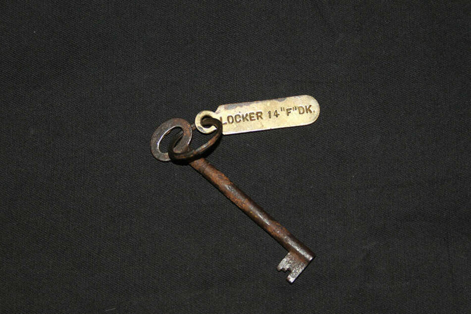 Der Spintschlüssel wurde für 95.000 Euro versteigert.