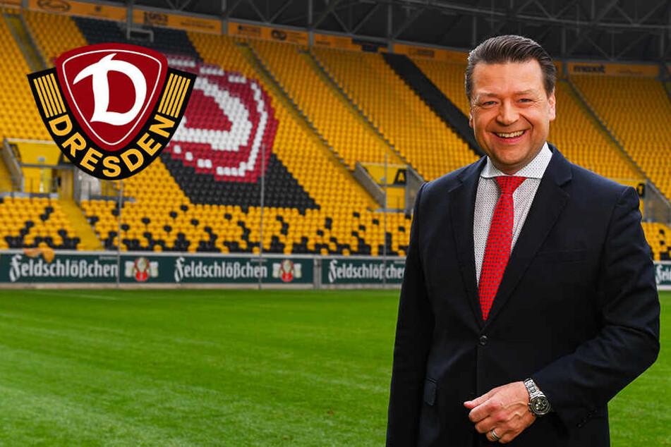 """Dynamo-Präsident Scholze exklusiv: """"Zusammenhalten, kreativ und innovativ sein"""""""