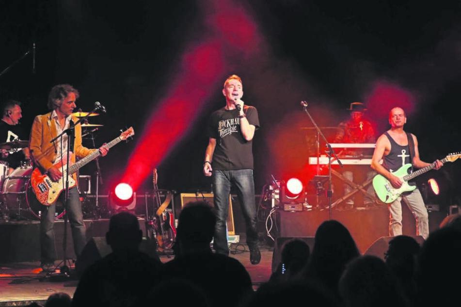 Neben anderen großen Stars wird auch die deutsche Kultband Rockhaus beim Zwickauer Stadtfest auftreten.