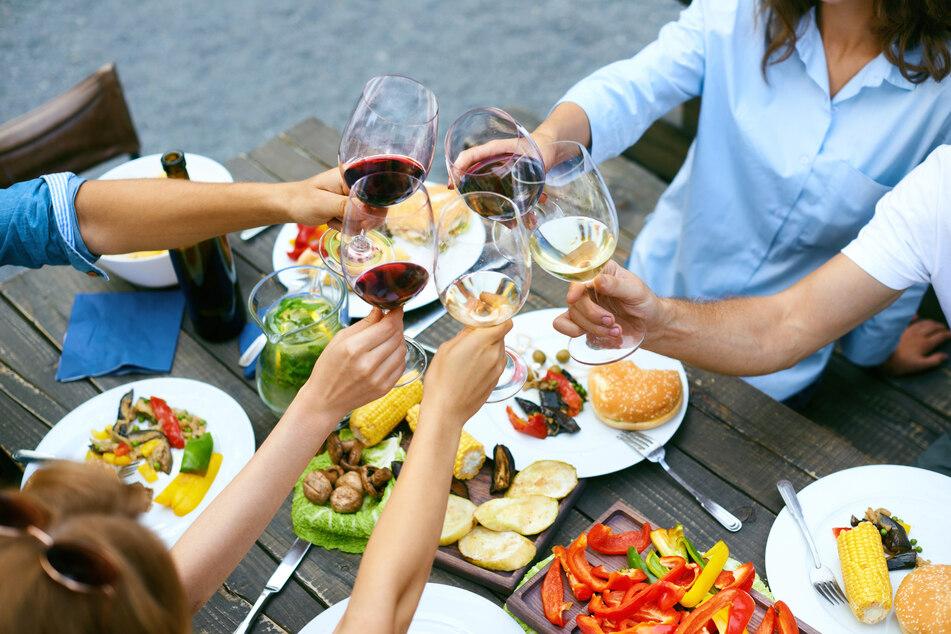 Das 21. Leipziger Weinfest eröffnet am kommenden Mittwoch auf dem Marktplatz. (Symbolbild)