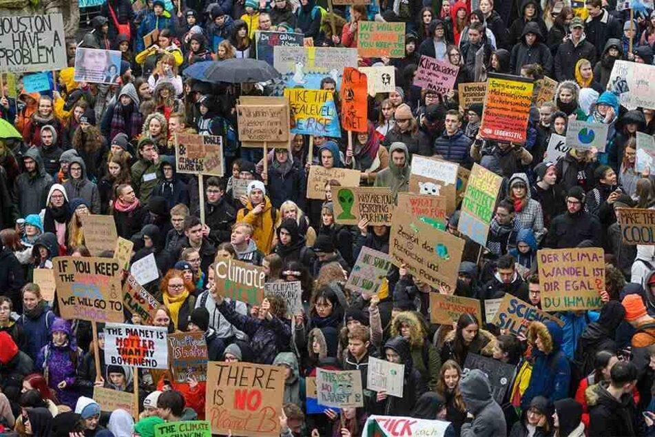 Leipzig: Leipziger unterstützen Massen-Protest in NRW