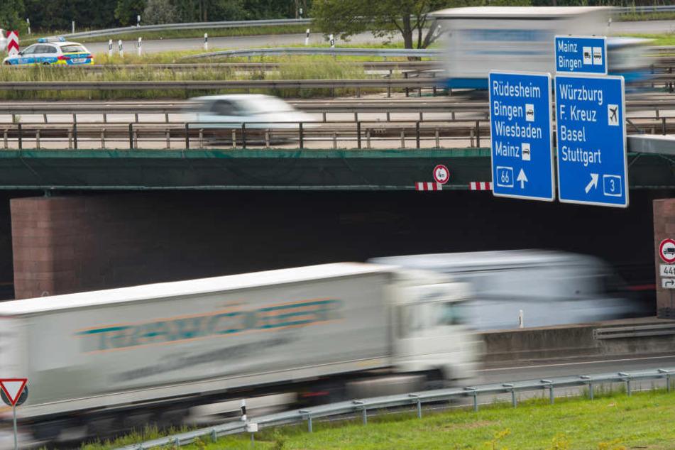 Weiträumige Sperrungen auf A3 und A66 am Wiesbadener Kreuz