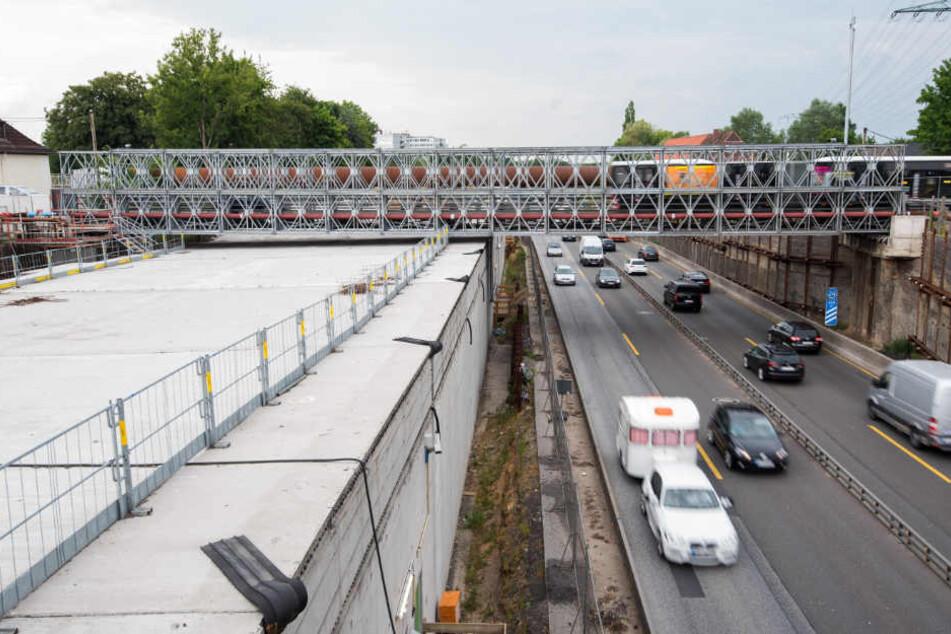 Die A7 in Hamburg wird ausgebaut - zur Freude vieler Anwohner.