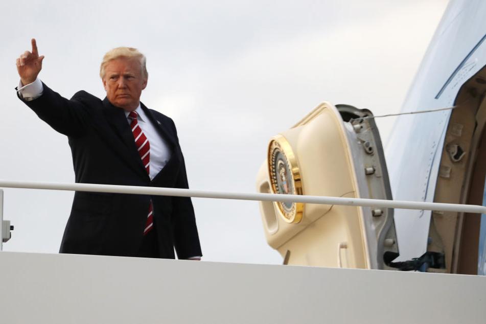US-Präsident Donald Trump hat per Twitter wieder gegen Nordkorea geschossen.