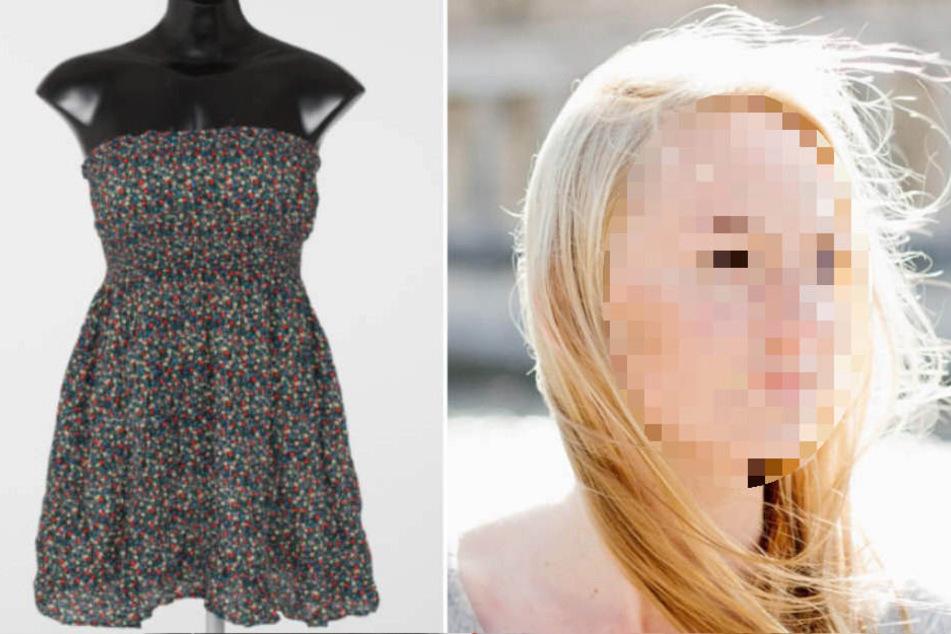 Dieses leichte Sommerkleid trug Melanie R. (†30) zum Zeitpunkt ihrer Ermordung.