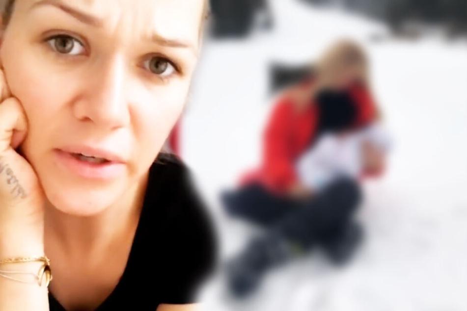 """""""Nackt"""" im Schnee: Mit diesem Bild verärgert Sara Kulka ihre Fans"""