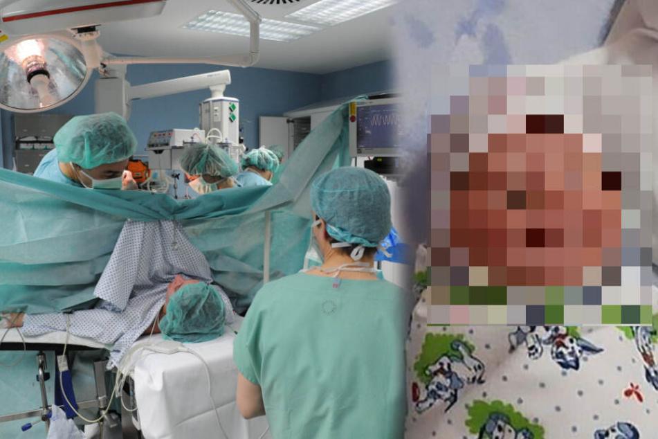 Ärzte führen Kaiserschnitt durch, als die Mutter ihr Baby sieht, ist sie entsetzt!