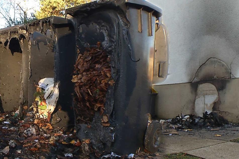 Anwohner in Angst: Feuerteufel fackeln weit über 20 Container ab