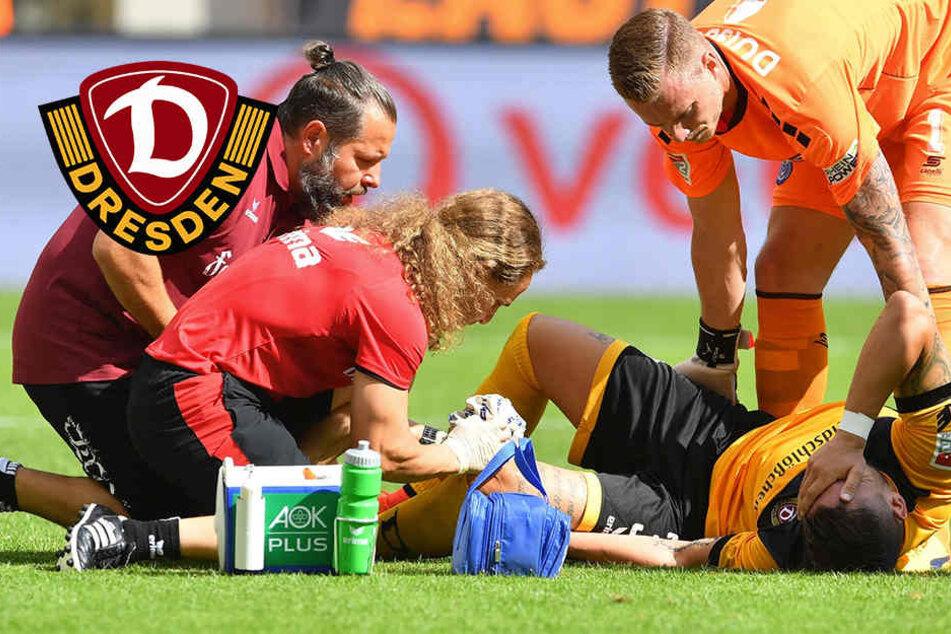 Kreuzband, Innenband und Meniskus bei Dynamo-Stürmer Testroet kaputt