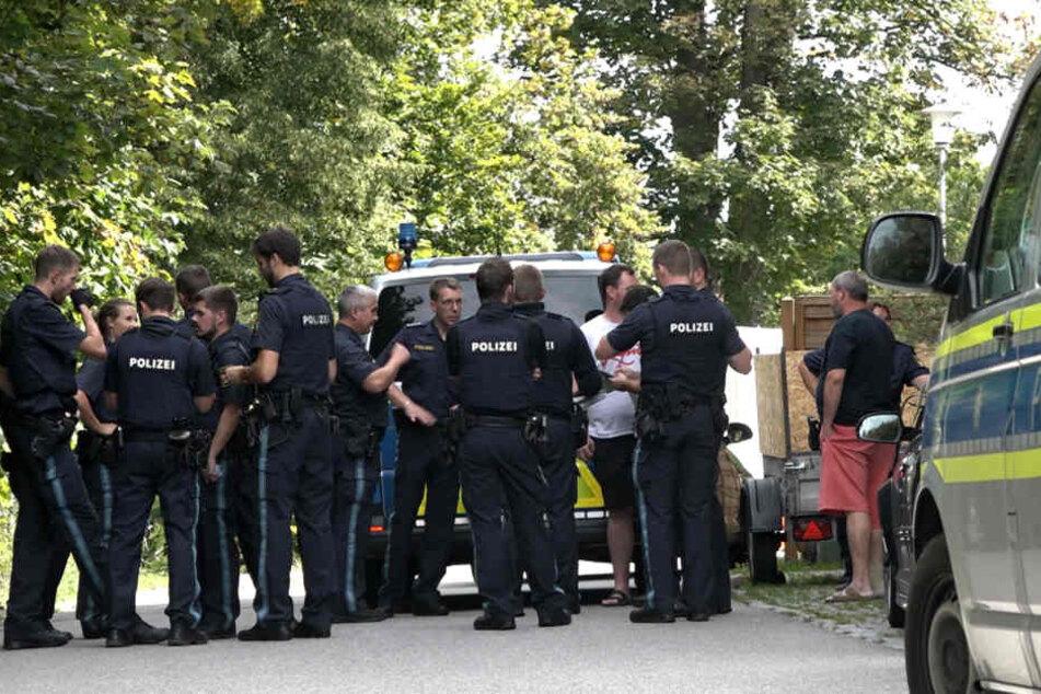 Schüsse im Raum Regensburg: Gesamte Polizei im Einsatz