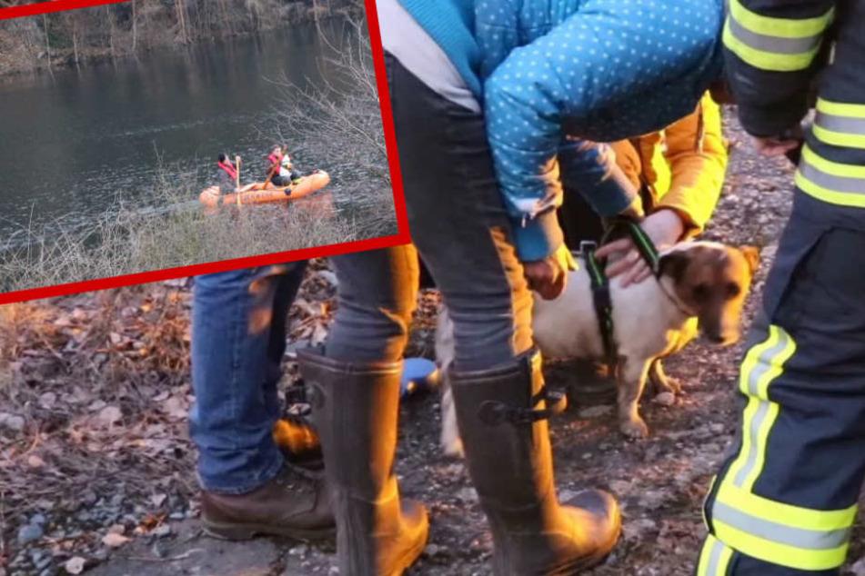 Bei der Eiseskälte mussten die Beiden stundenlang auf Hilfe ausharren.