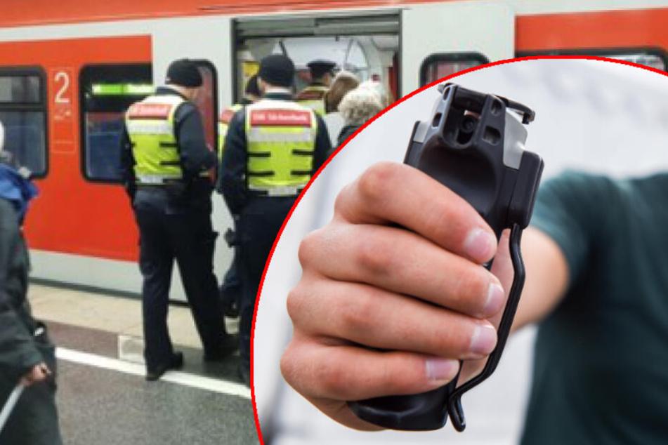 DB-Sicherheitsleute müssen sich gegen Mann mit Pfefferspray verteidigen