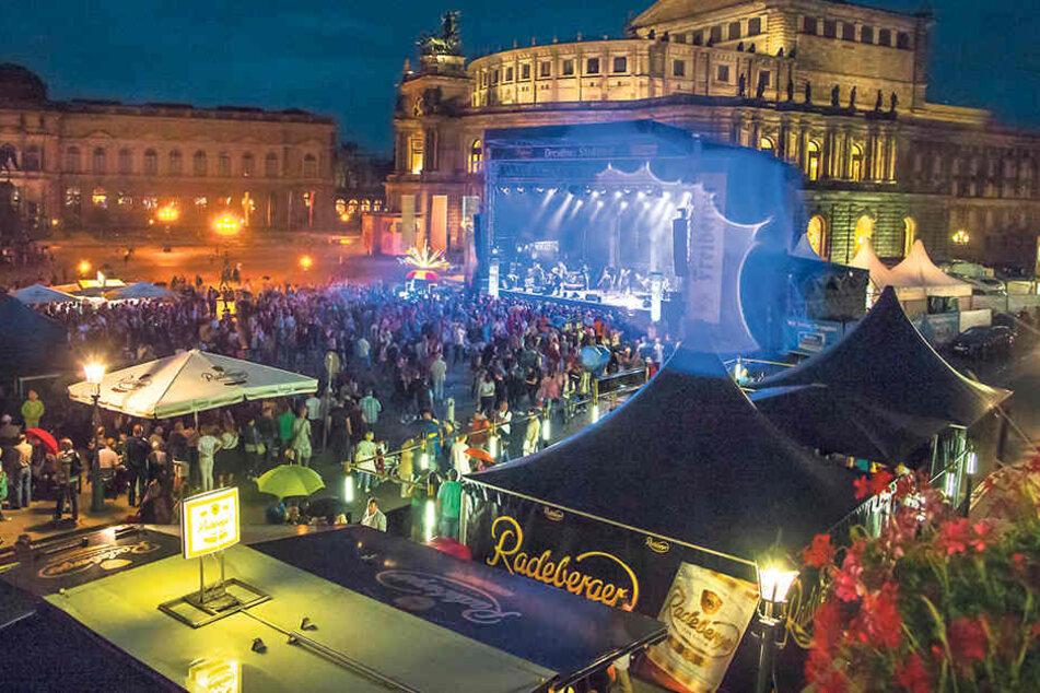 Konzerte in Bestlage: Auf der Hauptbühne am Theaterplatz treten wieder viele bekannte Künstler auf.