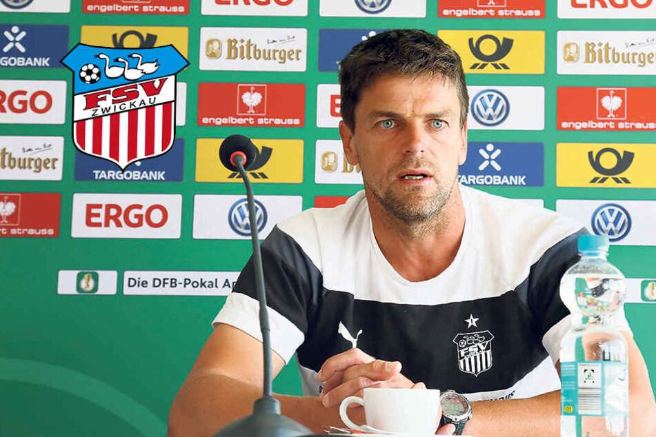 FSV-Trainer Torsten Ziegner sieht auch gegen den HSV eine -wenn auch kleine -Chance.