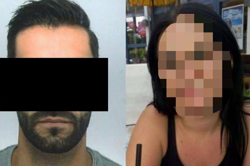 Der 30-jährige Tatverdächtige (links im Bild) gab einen Streit mit seiner Ex-Freundin zu.