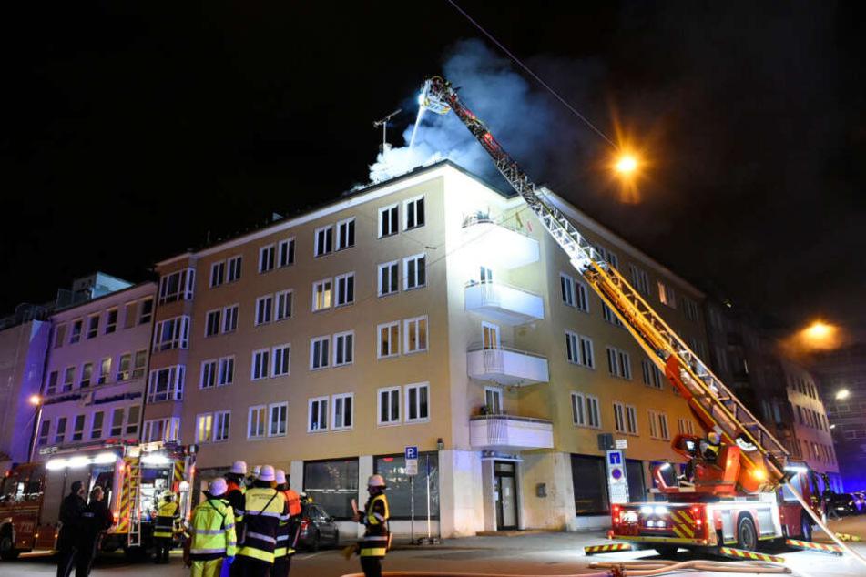 Weil schnell gehandelt wurde, war der Brand bald unter Kontrolle.