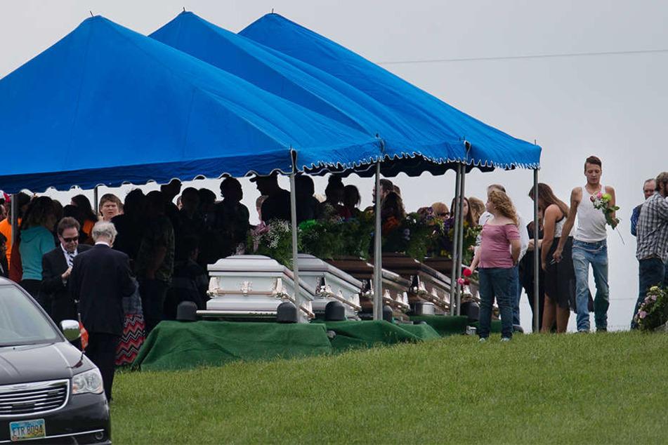 Der Achtfach-Mord hatte weit über die Gemeinde hinaus für Entsetzen gesorgt.