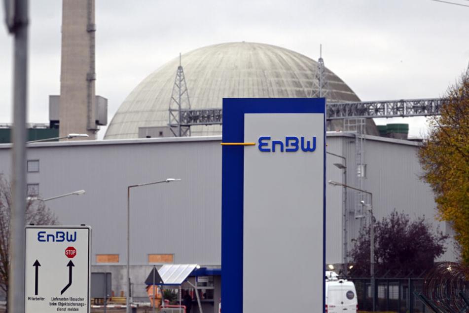 Das Maschinenhaus des Blocks 2 im Kernkraftwerk Philippsburg.
