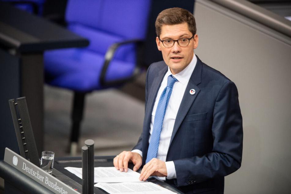 Christian Hirte bei einer Bundestagssitzung in Berlin.