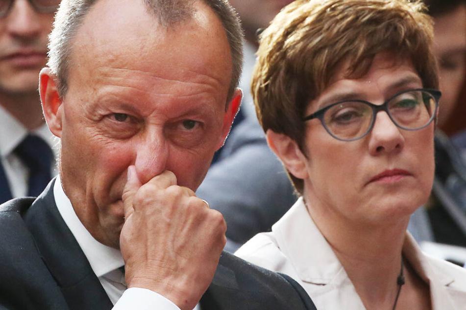 Rennen um CDU-Vorsitz: Merz soll Minister-Angebot von Kramp-Karrenbauer abgelehnt haben