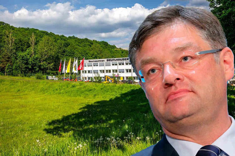 Harte Kritik nach Wald-Plänen im Gewerbegebiet