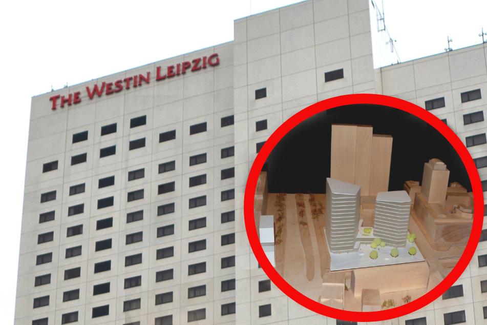 Leipziger Westin-Hotel: Immobiliengesellschaft hat große Pläne für Parkplatz