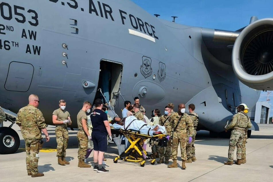 Baby born during Afghan evacuation named after US aircraft