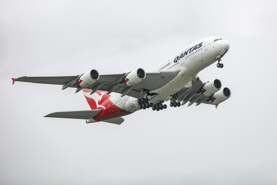 Um genau 10.39 Uhr startete der Airbus A380.