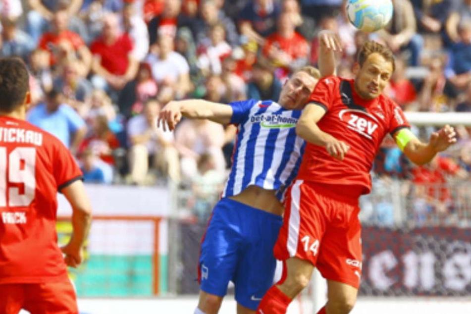Tobias Hasse, hier noch im Trikot der U23 der Hertha.