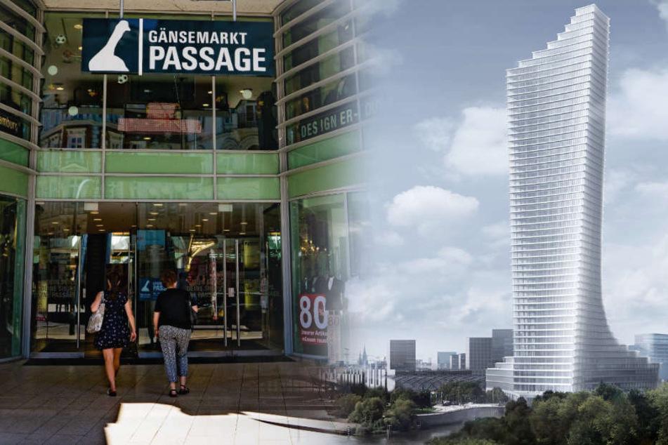 Neuer Luxus-Bau für Hamburg? Milliardär lässt Gänsemarkt-Passage abreißen!