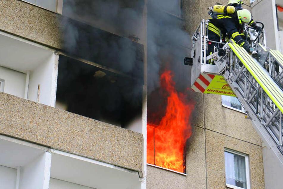 Das Feuer brach in einer Einrichtung für betreutes Wohnen aus.