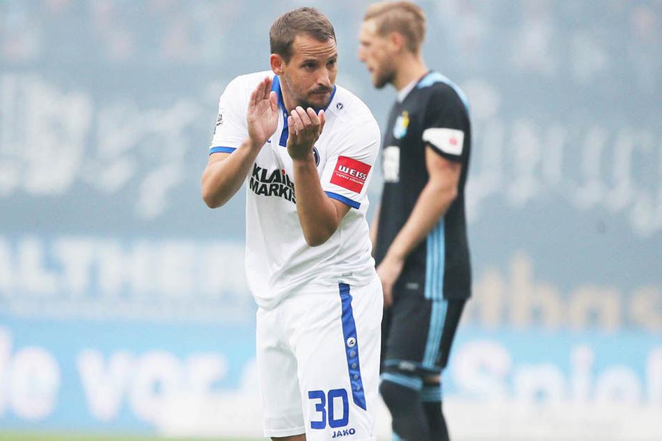 Für Anton Fink war es die Rückkehr zu seinem Ex-Club nach Chemnitz.