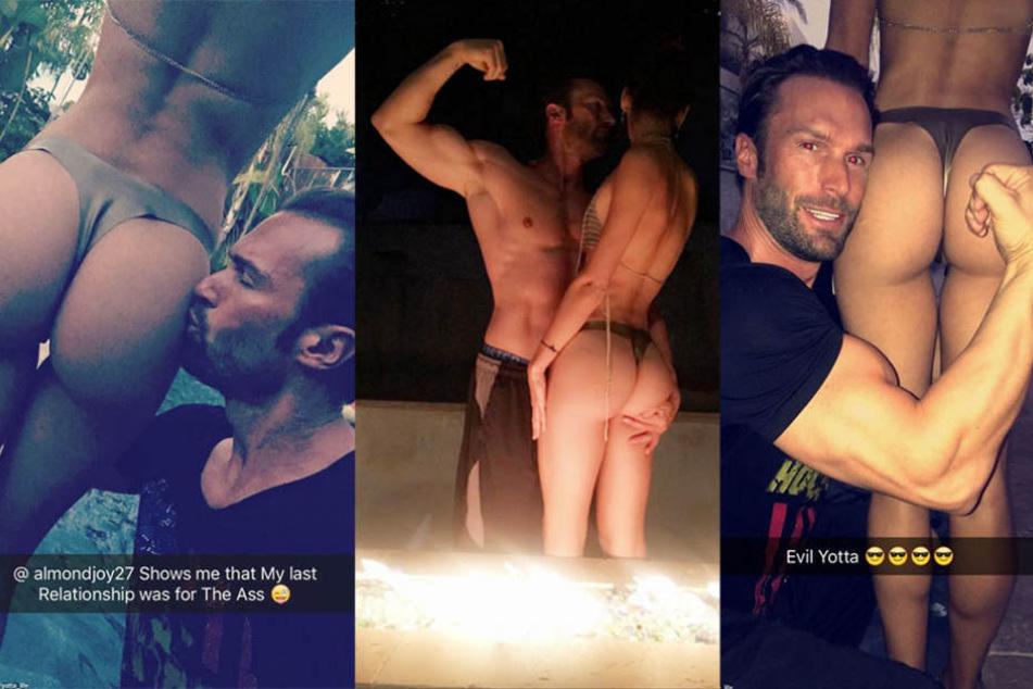 """Mit diesen Fotos """"tröstet"""" sich Bastian Yotta über die zweite Trennung innerhalb weniger Wochen hinweg."""