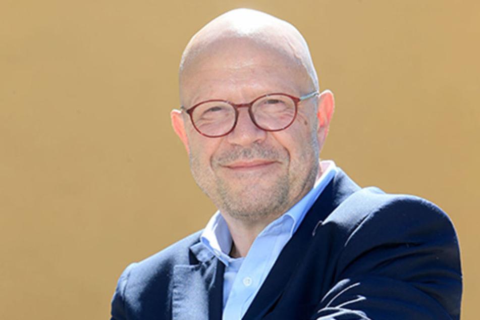 CVAG-Sprecher Stefan Tschök (60) verspricht 13 neue Busse noch in diesem Jahr.
