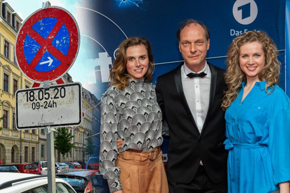 Klappe, die zweite! Tatort-Dreh heute in der Dresdner Neustadt