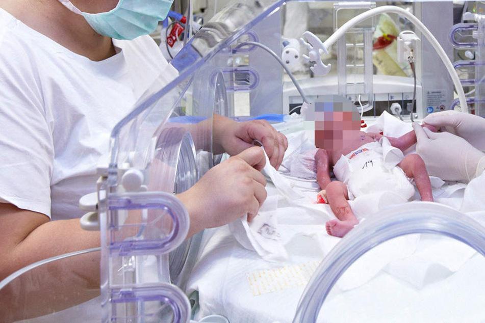 In Indien sind drei Babys in einem Krankenhaus gestorben. (Symbolbild)