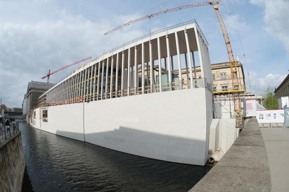 Hier sollen künftig alle Besucher der Museumsinsel empfangen werden.