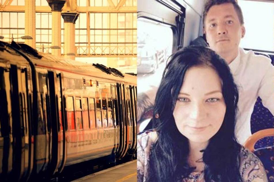 Das Paar aus Doncaster stürzte in inniger Umarmung vor den einfahrenden Zug.