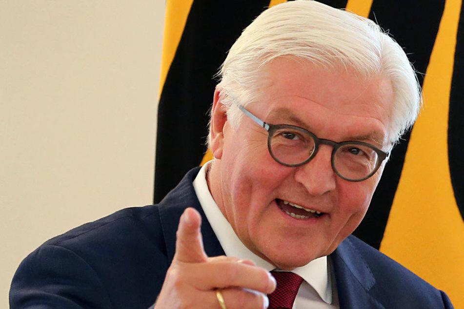 Bundespräsident Frank Walter Steinmeier ist am Dienstag und Mittwoch in Thüringen zu Besuch.