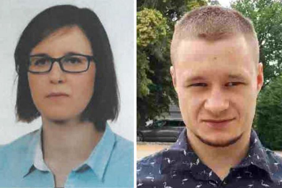 Das Opfer Magdalena Luczak (29) und ihr festgenommener Ex-Freund Daniel Szymanski (27).