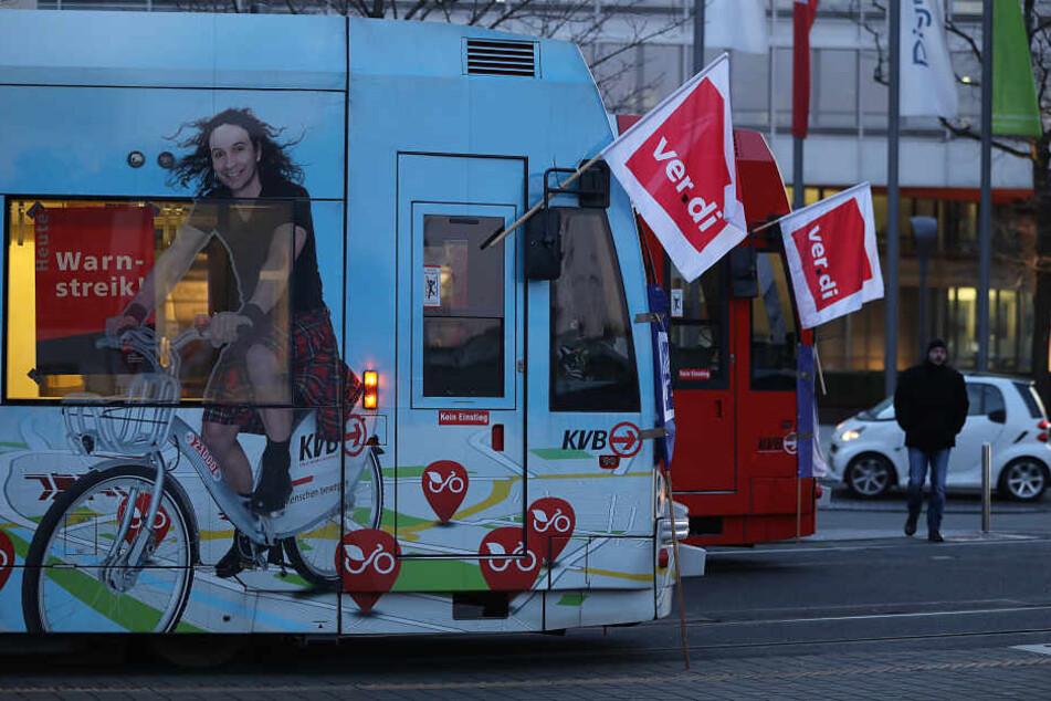 Die KVB fahren am Dienstag nicht in Köln.