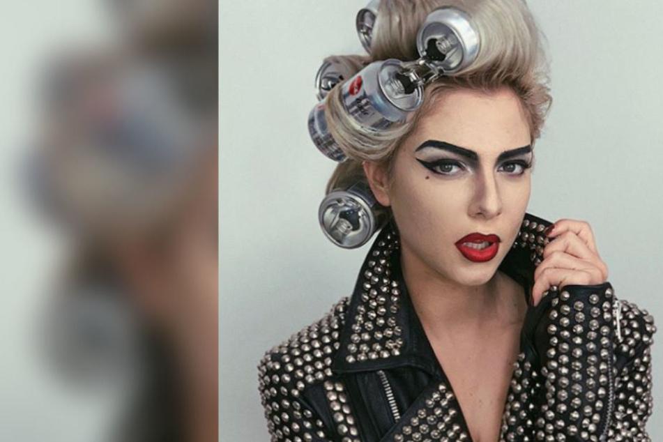 Krasse Verwandlung: Welcher Promi wird hier zu Lady Gaga?