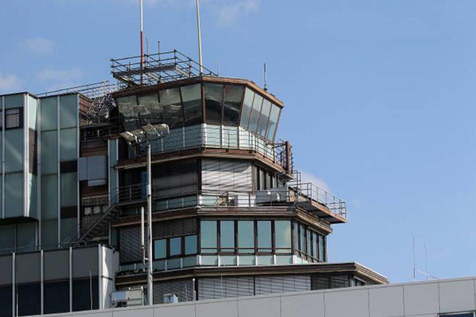 In einem Bürogebäude am Frankfurter Flughafen brach am Donnerstag Feuer aus.