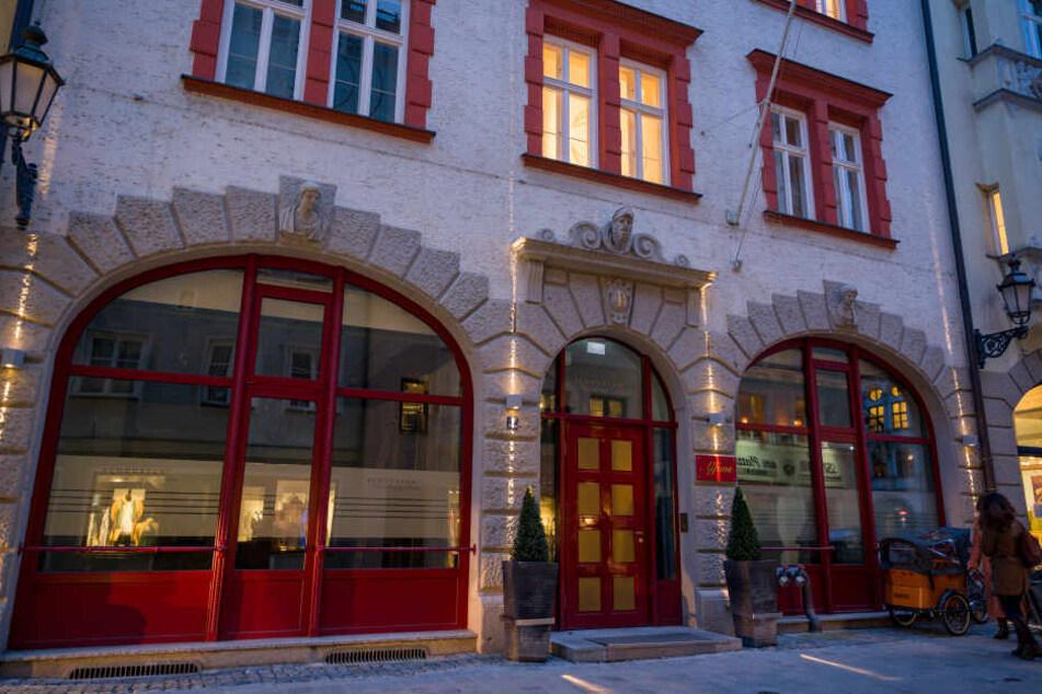 Das Restaurant Alfons am Platzl. Mit der Schließung des Gourmet-Restaurants hat Schuhbeck seinen Stern verloren, wie der Guide Michelin mitteilte.