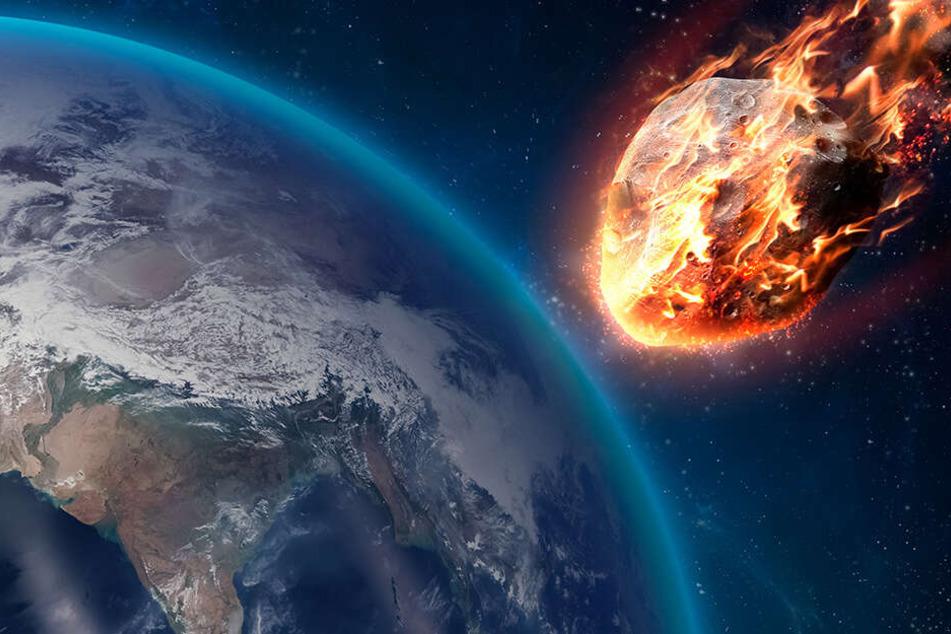 """Einschlagrisiko! So sieht der """"Apokalypse-Asteroid"""" von Nahem aus"""